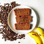 whole wheat coffee banana bread